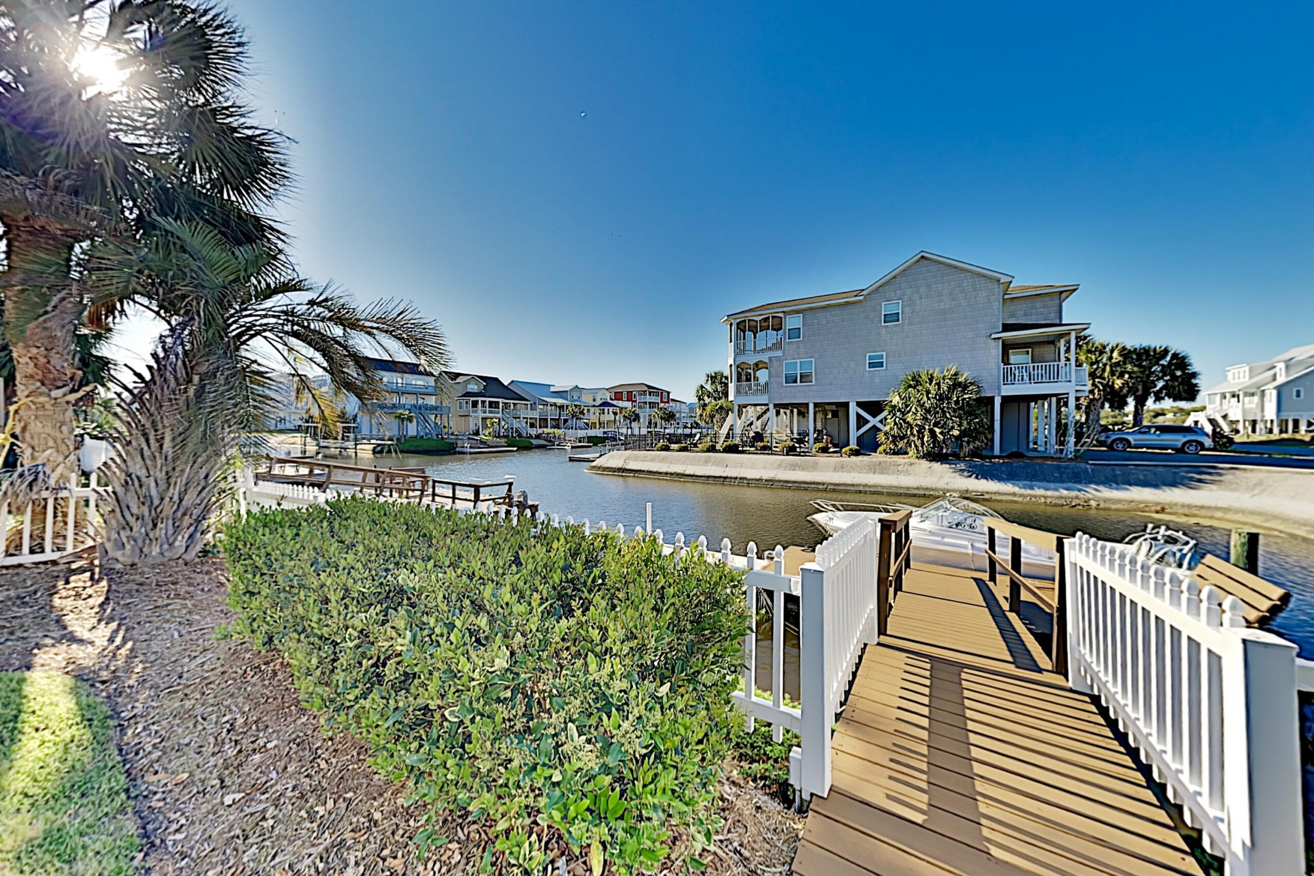 Seven Bedroom Rental House Ocean Isle Beach Canal