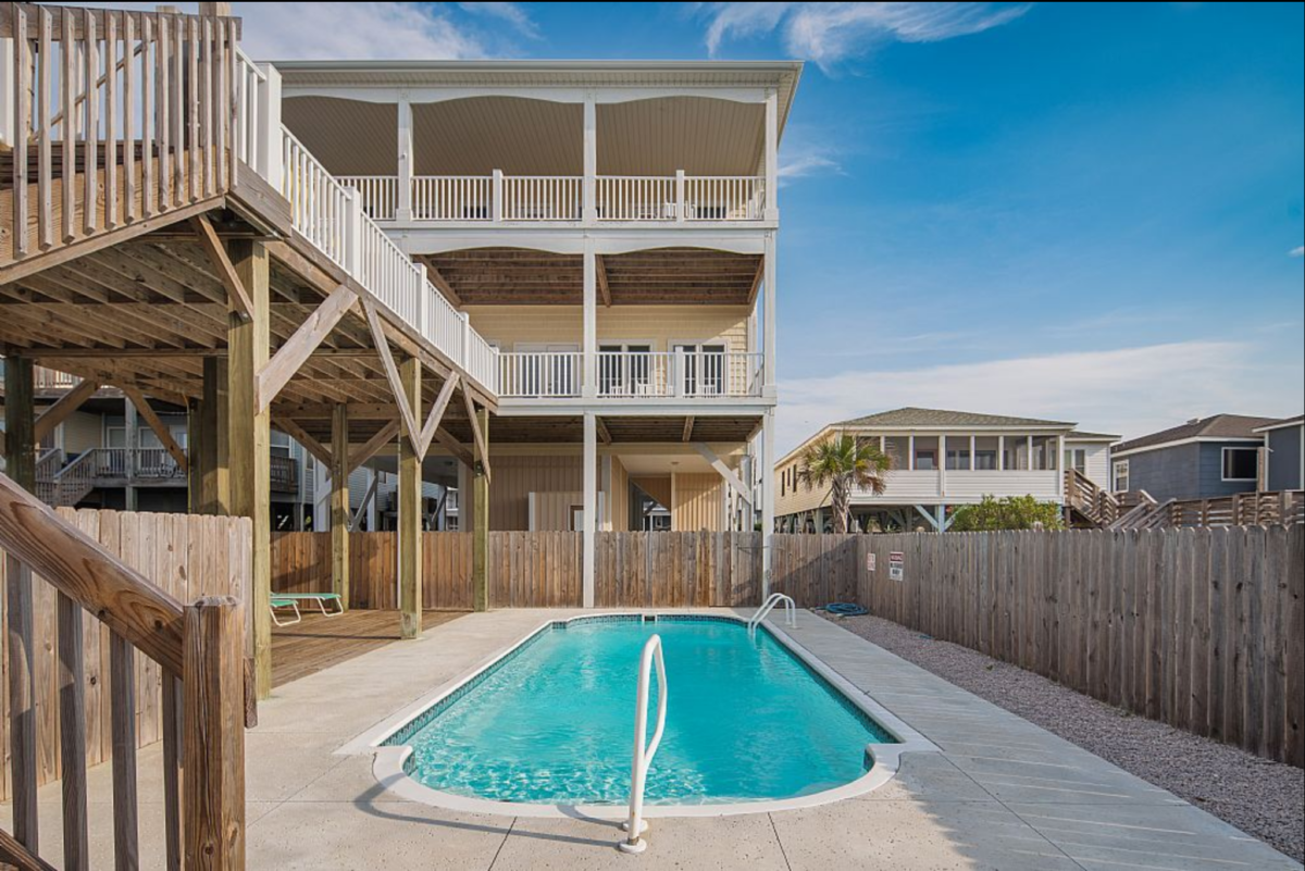 Large Oceanfront Luxury Home Ocean Isle Beach NC