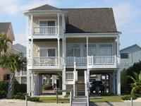 Canal Homes, Ocean Isle Beach NC.